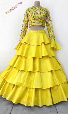 Wedding Dress Clothes, Party Wear Dresses, Dress Outfits, Fashion Dresses, Dress Wedding, Sharara Designs, Lehenga Designs, Indian Wedding Outfits, Indian Outfits