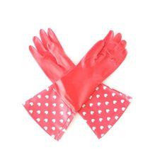Luvas Latex Coração irão deixá-la com muito mais glamour  na hora dos cuidados pessoais, da jardinagem e da limpeza!  Zoológico Presentes