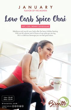 Low Carb Spice Chai is our flavor of the month! Resolved to shed some weight and still crave for Chai? Get our low carb spice chai today :)