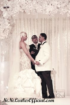 NeNe Leakes - At the Alter With Gregg Wedding Photos