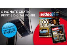 """Gratis: """"Video"""" im Halbjahresabo komplett kostenlos https://www.discountfan.de/artikel/lesen_und_probe-abos/gratis-video-im-halbjahresabo-komplett-kostenlos.php Die Zeitschrift """"Video"""" ist jetzt im Halbjahresabo komplett gratis zu haben. Das Printmagazin gibt es sechsmal frei Haus, obendrein erhält man auch die Digitalausgabe. Gratis: """"Video"""" im Halbjahresabo komplett kostenlos (Bild: Verlag) Um die Zeitschrift ... #Gratis, #Zeitschrift"""