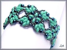 Beautiful bead weaving - bracelet
