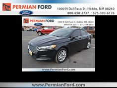2014 Ford Fusion at Permian Ford in Hobbs, NM