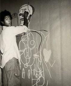 Jean-Michel Basquiat, 1960-1988. USA