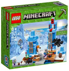 LEGO Minecraft The Ice Spikes 21131 Ship for sale online Lego Minecraft, Minecraft Crafts, Minecraft Houses, Legos, Figuras Wwe, Arma Nerf, Minecraft Birthday Party, All Lego, Baby Cows