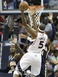 Eastern Conference Quarterfinals: Game 3 |  (6) Atlanta #Hawks over (3) Indiana #Pacers 90-69. Indiana leads series 2-1.
