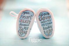 Figgie baby shoes..... So doing this
