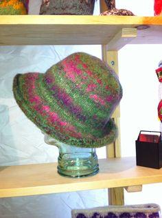 Felted hat wool, silk, Felt Hat, Wool, Silk, Knitting, Hats, Fedora Hat, Tricot, Hat, Breien