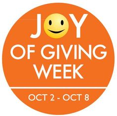 ~ Celebrate the Joy of Giving in Your Life ~