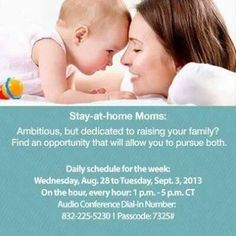Work from home and stay with your family!:) Visit LaraFoy.nerium.com or email me at LaraRichelleathome@gmail.com :)