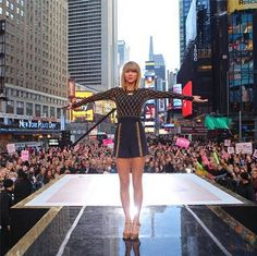 Thank you Good Morning America, thank you to everyone who filled Times Square, thank you New York