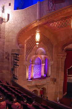 Another view of the main theater inside of the Fox Theatre