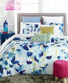 bluebellgray Skye Comforter and Duvet Sets - Bedding Collections - Bed & Bath - Macy's Bed Decor, Home Comforts, Bluebellgray, Comforter Sets, Bed, Duvet, King Comforter Sets, Duvet Sets, Duvet Comforter Sets