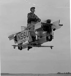 The B-10 Prop-Copter VTOL aircraft was flown in prototype form on 6 August 1958 and was powered by two 72hp McCullochs, each driving a horizontal propeller.