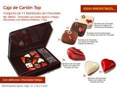 ¿Ha comenzado a pensar en su regalo en el Día de San Valentín? Mira aquí nuestras sugerencias: http://www.mysweets4u.com/es/?o=2,5,29,0,0,0