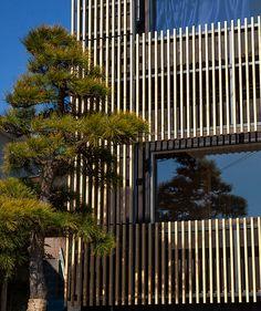 modern ryokan kishi-ke in Kamakura, Japan Traditional Baths, Traditional Japanese, Zazen Meditation, Washitsu, Kamakura, Tourist Places, Tea Ceremony, Japanese Culture, Exterior