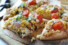 pizza recipe: Corn And Tomato Pizza Recipe