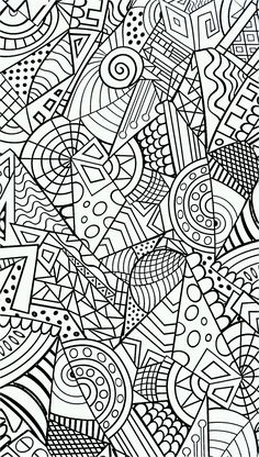 • anti-stress // coloring pages for adults