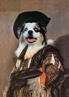 4b111787e371 The Laughing Cavalier by Frans Hals - Custom Pet Portraits - Dog Portraits  and Cat Portraits- Digita