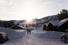 Out of the city and into the snow in Geilo, Norway
