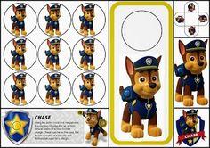 Paw Patrol: Chase Free Printable Mini Kit.