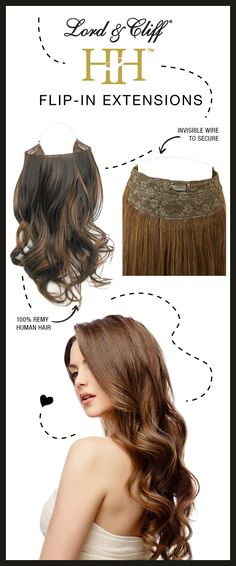 Add volume and length to your hairstyle with our 100% Human Remy Flip-in Hair Extensions. Choose any length or color that compliments you and also check out our other wigs, ponytails, fusions, weaves, and much more! First time orders get 40% off your entire order! Sign up for our newsletters and get up to date with our other exclusive offers!