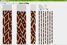 Eridhan творения - Бисероплетение Учебники: вязание крючком Канатные Шаблоны