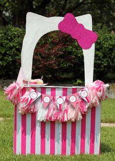 Name: Birthday Girl, Age 3 Location: Atlanta, GA For my baby girl's third birthday party, we chose a Hello Kitty theme!