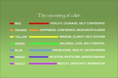 Feng Shui Color Meaning