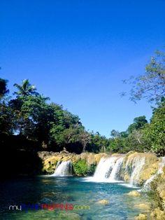 Taking a Dip at the Bolinao Waterfalls in Pangasinan