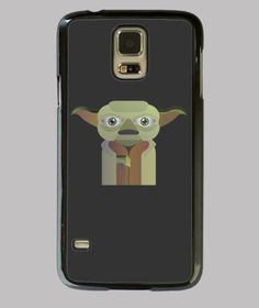 Carcasa de movil samsumg galaxy de yoda