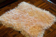 beige furry mini blanket