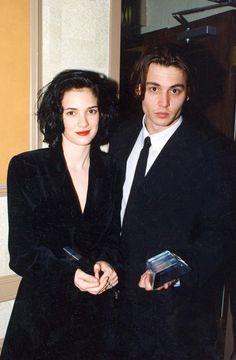 Johnny Depp and Winona Ryder. Get back together please!