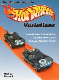 The Ultimate Guide to Hot Wheels Variations by Michael Zarnock. This is the one that started it all! Purchase your autographed copy at www.MikeZarnock.com #hotwheels #mattel #toys #hotrod