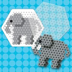 Create this friendly giant with the Perler Elephant Bead Activity Kit. This value-priced kit features a translucent, flexible silicone pegboard and a heat resistant pattern card. For ages 6 and up. The Perler Elephant fuse bead kit includes: 175 beads • Silicone hexagon pegboard • Heat-resistant pattern card • Ironing paper • Easy instructions