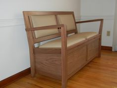 Two Seat Bench with Storage
