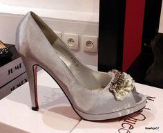 82e1cd8a1f5b Escarpins ouverts argentés argent strass chaussures femme soirée mariage 41    eBay Chaussure Femme Soirée,