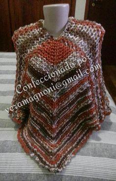 Brasil Tricô & Crochê - Handmade: Poncho quadrado perfeito