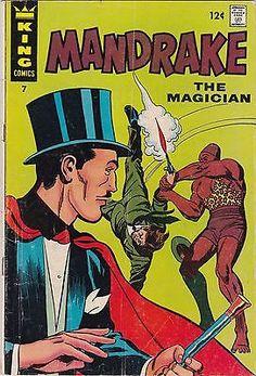 Vintage-August-1967-King-Comics-Mandrake-the-Magician-Comic-Book-7