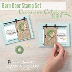 Barn Door Bundle Video by Stampin' Up!