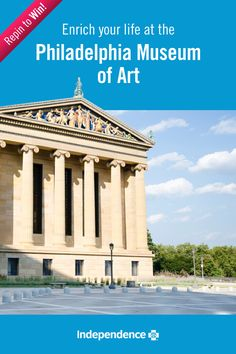 The Philadelphia Museum of Art offers calming, captivating exhibits that will capture the eye. Follow IBX and repin this image for a chance to win two (2) tickets! #IBXStressFree
