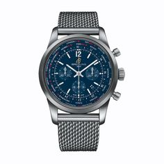 #Breitling Transocean Unitime Pilot Stainless Steel #Watch