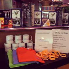 Help and donate to the 15th annual fundraiser for helping kids with cancer by purchasing a tshirt  mug  or a bracelet #MelsDiner #SWFL #American #Restaurant #Diner #Breakfast #Brunch #Lunch #Dinner #DinerFood #Desserts #Drinks