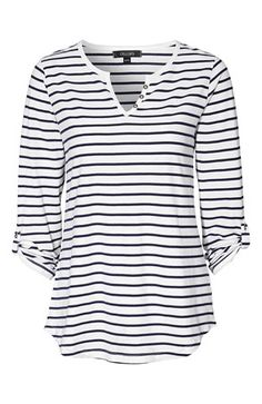 Mega cool Cellbes Bluse 2-Pack Blå Hvid Marine Stribet Cellbes Tunika til Damer i luksus kvalitet