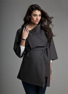 Images of Winter Maternity Coat - Reikian