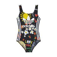 DREAM | AWAKEN adidas Originals collection by Pharrell Williams Musician and designer Pharrell Williams collaborated with adidas Originals on this women's swims