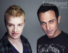 Noel Fisher and Guri Weinberg, Breaking Dawn part 2 cast portraits