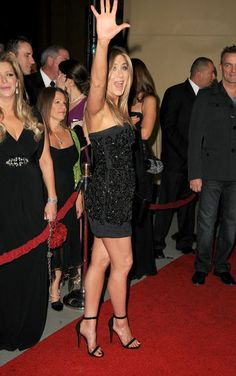 Not only do I want to look like she does in her 40s while I am in my 20s. I really want that dress!