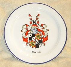 "Vintage Gloria Fine Porcelain Handwork 10 1/4"" Crest Display Plate Frest Decorative in for a Germany Colorful Crest Bayreuth West Germany Multiple,Red,White,Green, and the pervert http://www.amazon.com/dp/B0181OMOGY/ref=cm_sw_r_pi_dp_3nQswb0K9NC7A"