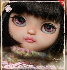 1/6 OOAK Blythe Posable Art Doll Custom Icy Doll Cafè ***by MiMeDollz***